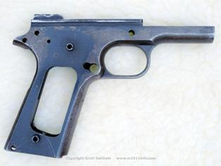 NAA s/n 77 detail-stripped receiver right view