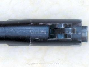 NAA s/n 77 smooth transition from chamber to bore bottom view
