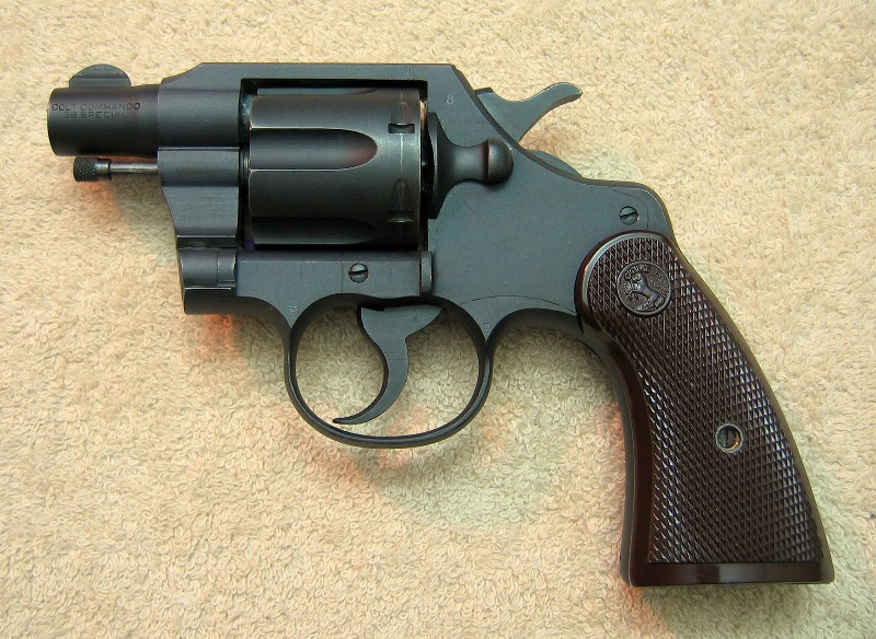 1943 Colt Commando with 2' bbl. used in Pacific Theatre during WWII.