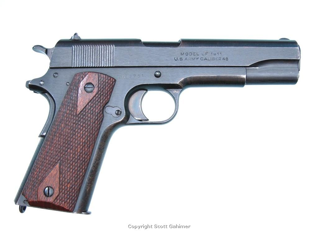 1918 Remington Arms-UMC M1911 pistol.