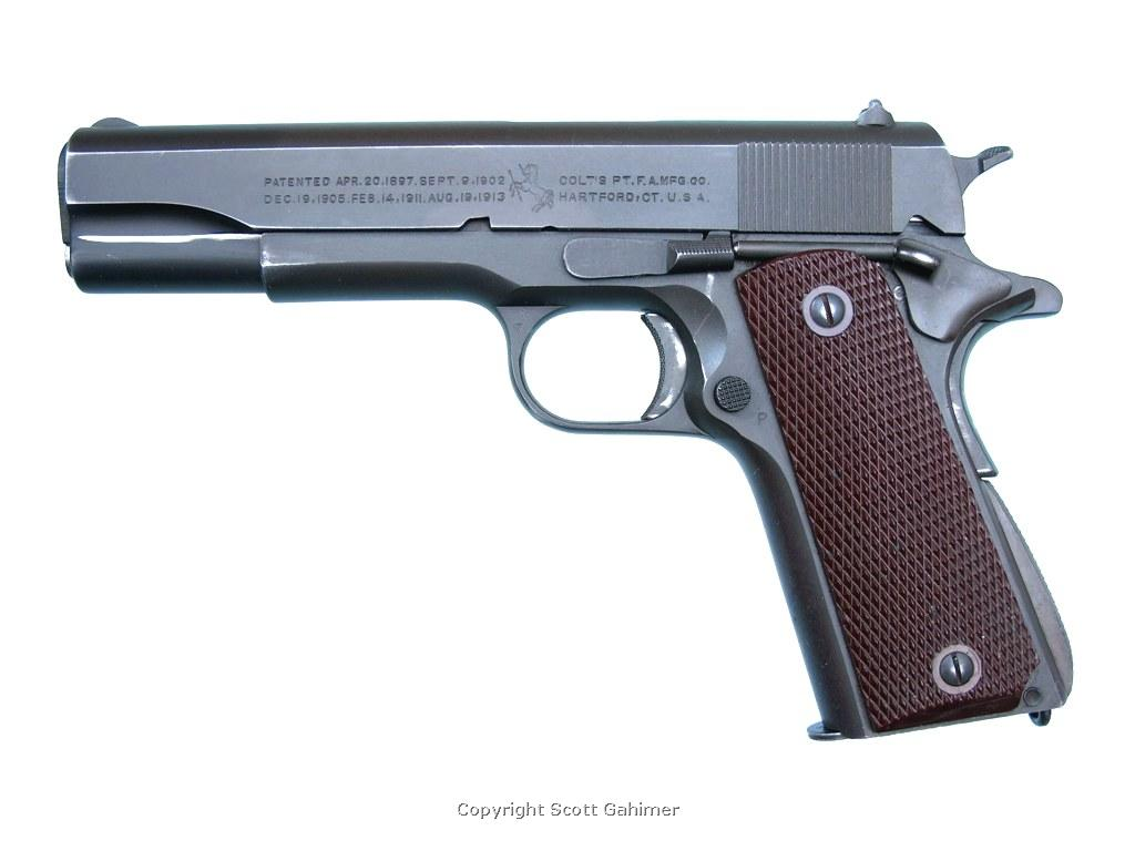 1943 Colt M1911A1 assigned to U.S.S. Tisdale (DE-33) during WWII.